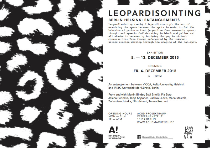 Leopardisointing Invitation